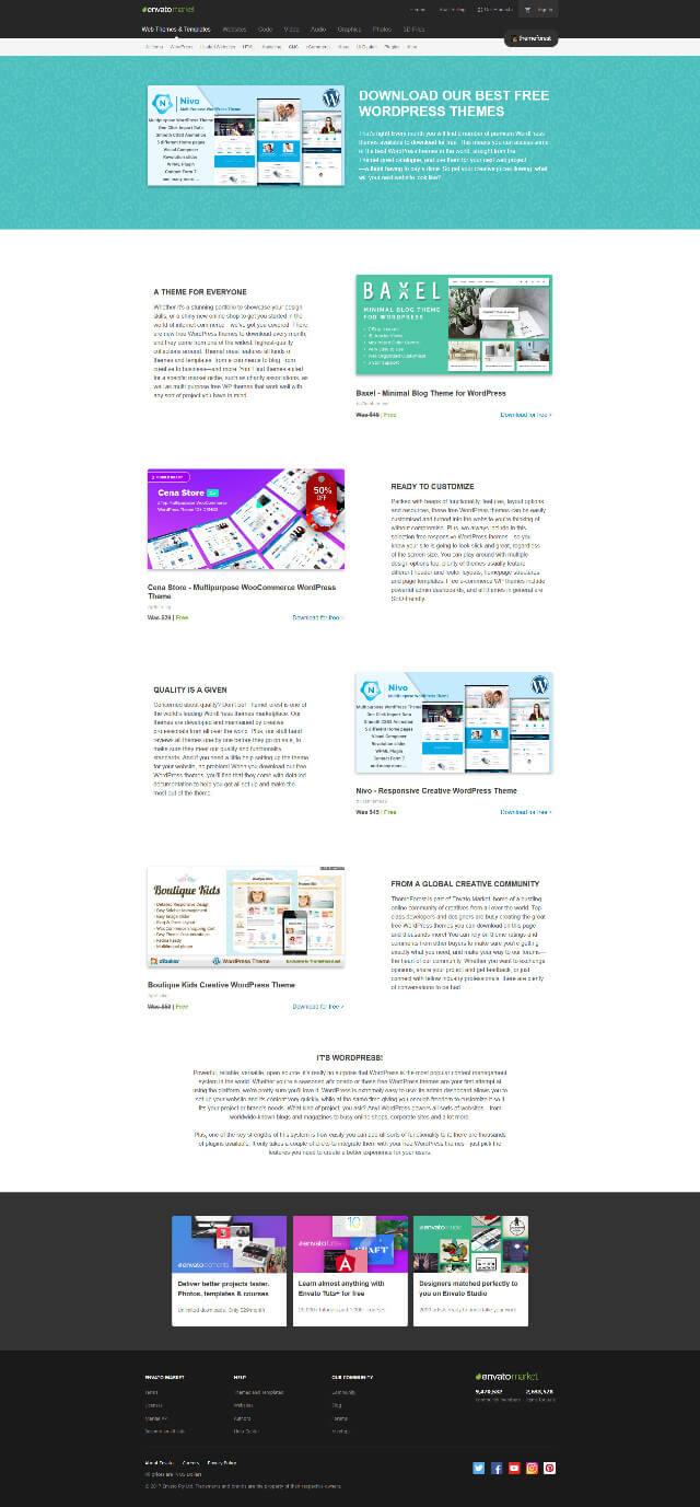 Download Free WordPress Themes 免費佈景主題下載