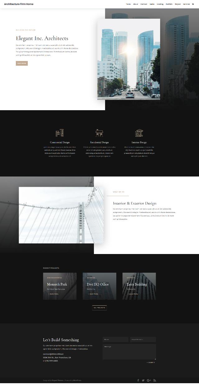 FREE Architecture Firm Layout Pack – 免費建築設計示範頁面下載